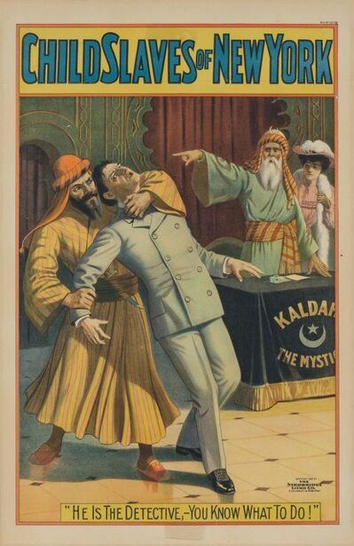The Strowbridge Litho Co., 'CHILD SLAVES OF NEW YORK', 1903