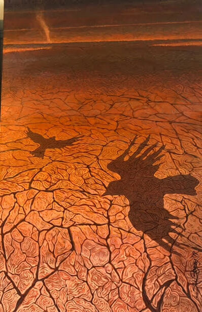 Shonto Begay, 'Above Parched Ground', 2020