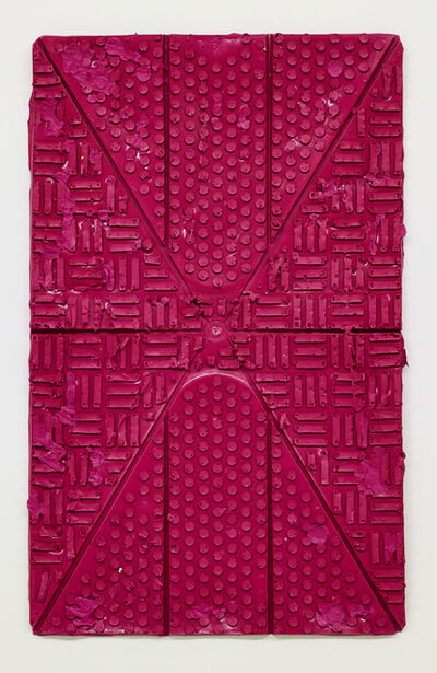 Julia Gruner, 'Anti Slip Painting (Magenta)', 2018