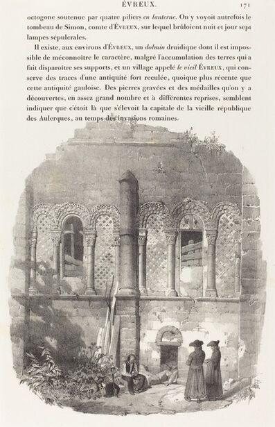 Richard Parkes Bonington, 'Eglise de Saint-Taurin, Evreux', 1824