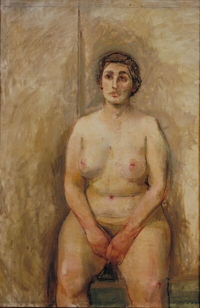 William Coldstream, 'Seated Nude ', 1952-1953