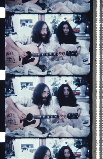 Jonas Mekas, 'John & Yoko BED-IN FOR PEACE', 2013
