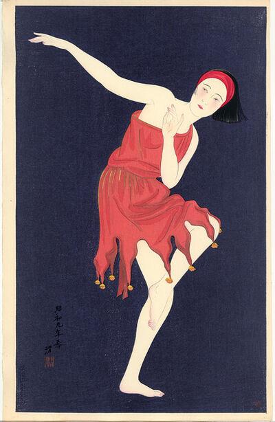 Kobayawaka Kiyoshi, 'Western Style Dancing', 1934