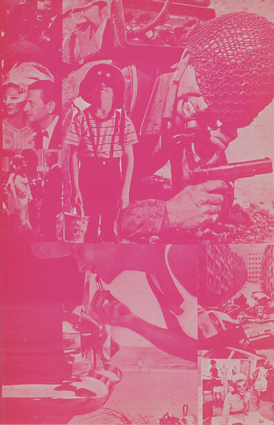 Eduardo Paolozzi, 'Pig or Person, It's the Same, Fortune Plays a Funny Game', 1965-1970