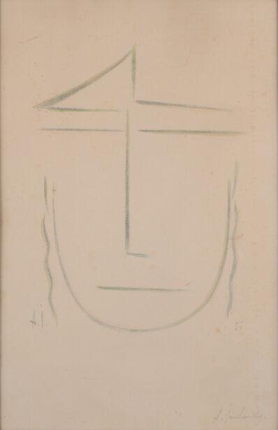 Alexej von Jawlensky, 'Kopf (Zweifelnd) / Head ', 1927