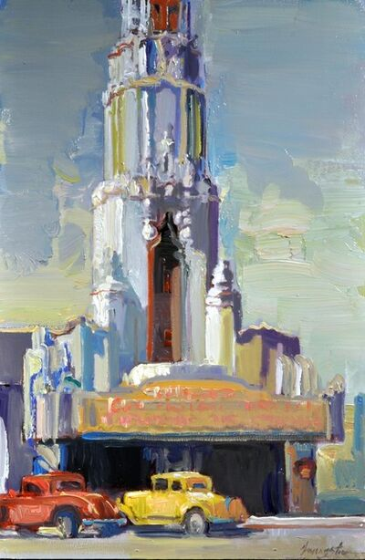 "Francis Livingston, '""Tower Theater""', 2014"
