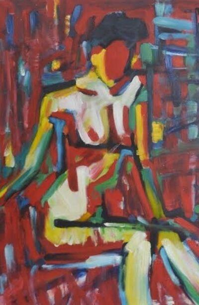 Tran Luu Hau, 'Red Nude ', 2010