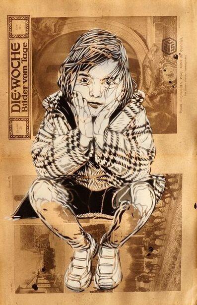 C215, 'Seated Girl (Die-Woche Bilder vom Tage)'
