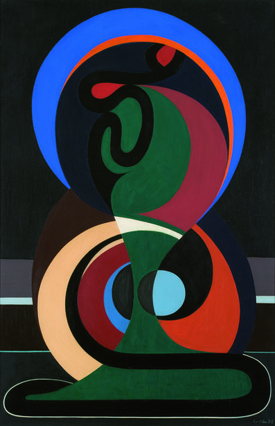 Auguste Herbin, 'Composition', 1935