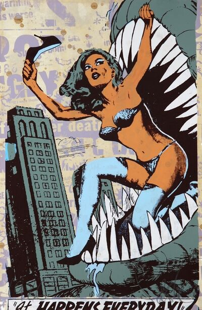 FAILE, 'It Happens Everyday', 2007