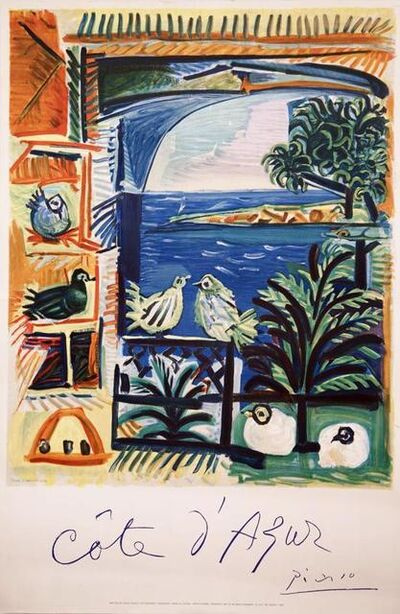 Pablo Picasso, 'Cote d'Azur', 1962