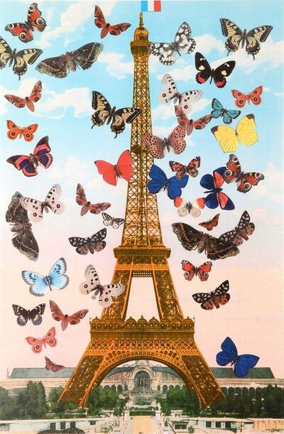 Peter Blake, 'Eiffel Tower', 2010