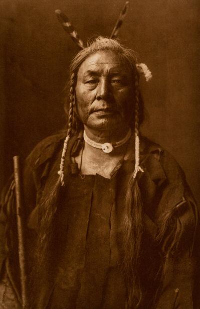 Edward Sheriff Curtis, 'Eagle Child - Atsina', ca. 1908