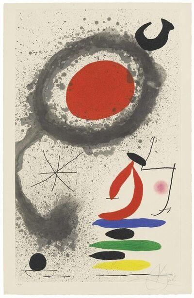 Joan Miró, 'Soleil ebouillanté', 1969