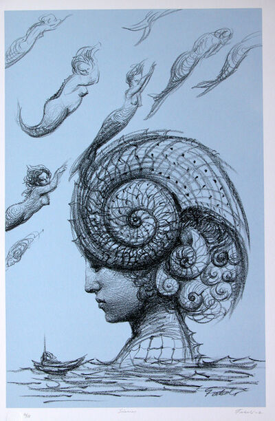 Roberto Fabelo, 'Mermaids', 2002