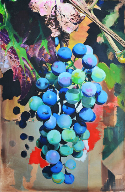 MARTIN GALLE, 'Grapes (Blue)', 2017