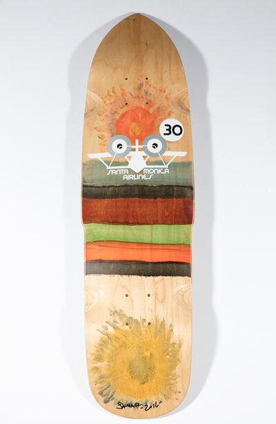 Skip Engblom, 'Skip Engblom Skateboard Deck, Sunflower', 2016