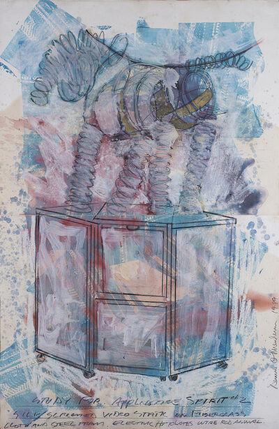 Dennis Oppenheim, 'Study for Appliance Spirit #2', 1989
