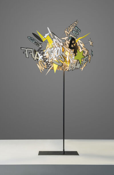 Ingo Maurer, ''Comic Explosion', a unique prototype standard lamp / ceiling light', 2010