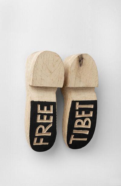 Barthélémy Toguo, 'Free Tibet', 2008