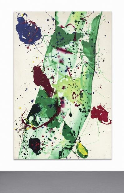 Sam Francis, 'Having to Do with the Whale', 1986