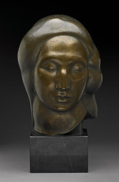 Gaston Lachaise, 'Head of a Woman', 1923