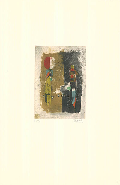Johnny Friedlaender, 'Mikrophonie', 1970