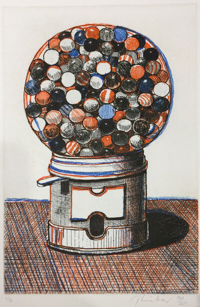 Wayne Thiebaud, 'Gumball Machine', 1964