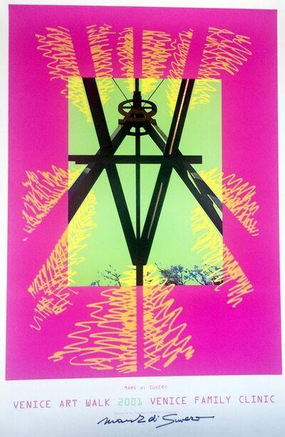 Mark di Suvero, 'Venice Art Walk (Hand Signed)', 2001