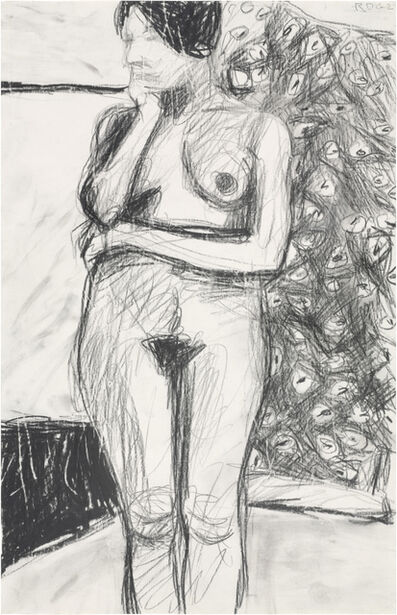 Richard Diebenkorn, 'Untitled (Standing Nude)', 1962