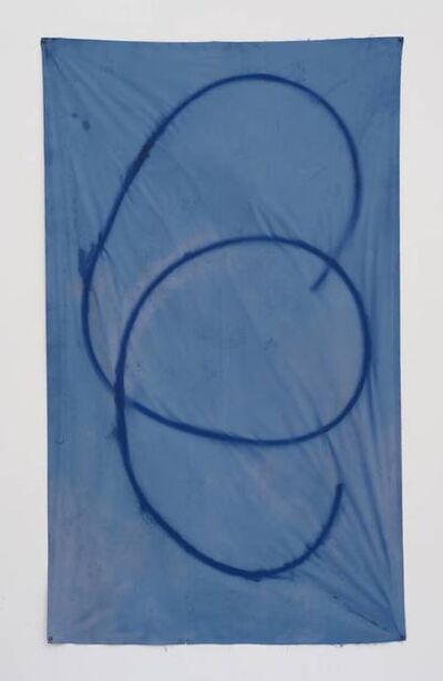 Sam Falls, 'Untitled (blue 14, Topanga, CA),', 2012