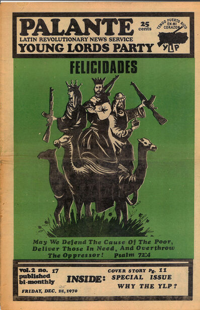 Young Lords Party, 'Y.L.O. newspaper , v.2, n17', 1970