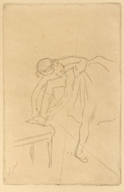Edgar Degas, 'Danseuse mettant son chausson', c. 1892