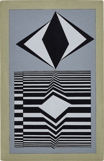 Victor Vasarely, 'TSENGUE', Conceived in 1960 and 1987