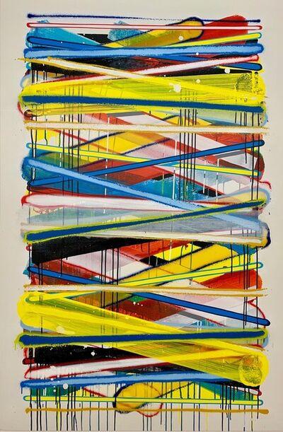 Momies, 'Lignes abstraites #3', 2017