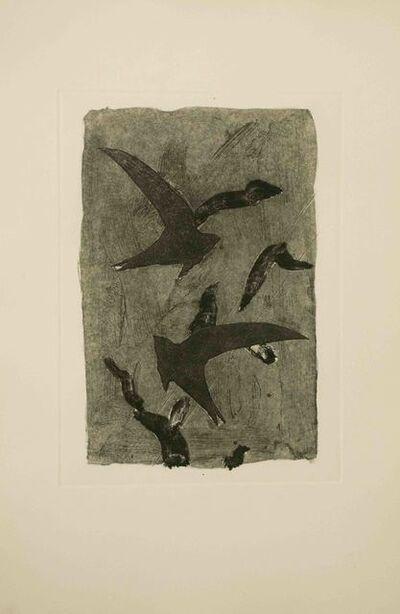 Georges Braque, 'Birds in Flight', ca. 1968