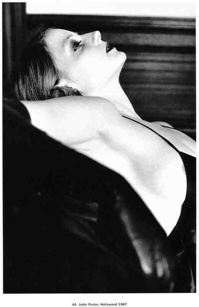 Helmut Newton, 'Jodi Foster, Hollywood', 1987