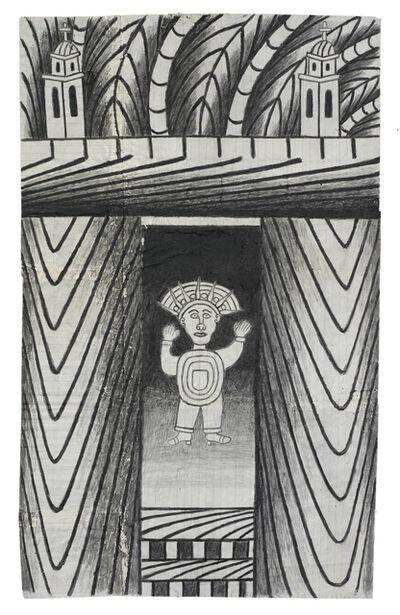 Martín Ramírez, 'Untitled (Aztec)', c. 1960-63
