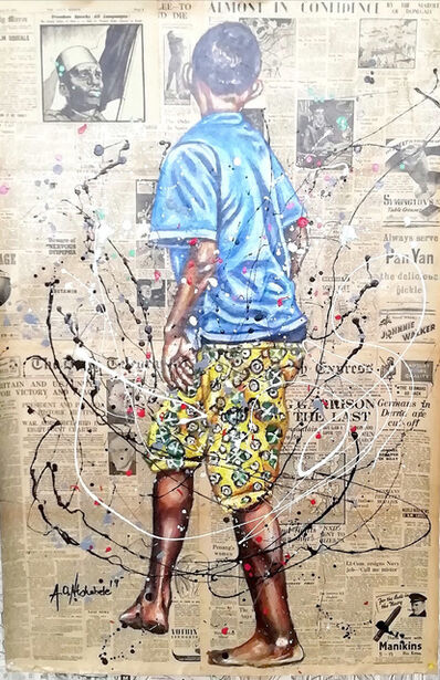 Andrew Ntshabele, 'The joy of life III', 2020