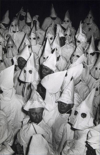 W. Eugene Smith, 'Untitled, from The Ku Klux Klan', 1955