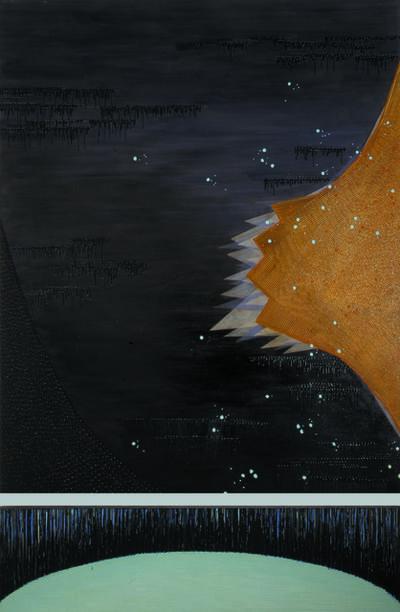 """Michiko Itatani, '""""Untitled"""" Painting from Tensor Field TSF-1', 2002"""