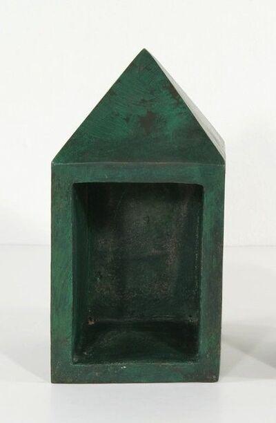Bob Law, 'Obelisk (half open back)', 1985