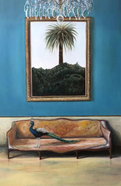 E. Andrea Klann, 'The Peacock and the Palm Tree', 2020