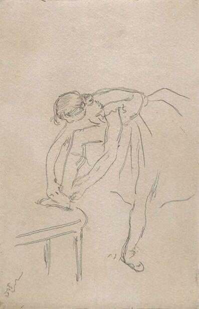 Edgar Degas, 'Danseuse Mettant son Chausson [Adhémar 60]', c.1880