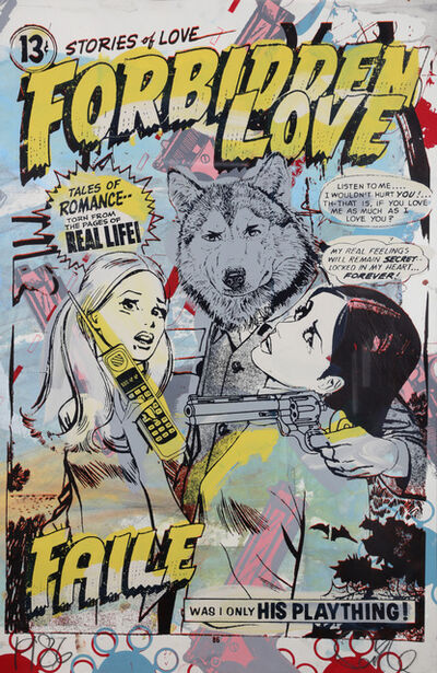 FAILE, 'Forbidden Love', 2008