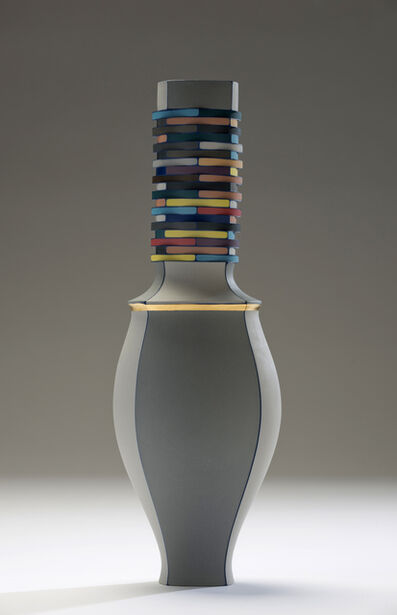 Peter Pincus, 'All Colors and Porcelain Vessel', 2015