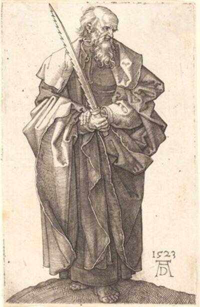 Albrecht Dürer, 'Saint Simon', 1523