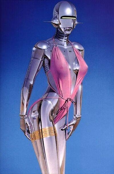 Hajime Sorayama, 'Pink Swimsuit', 2019