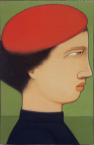 Andrew Stevovich, 'Portrait: Woman in Red Cap', 1991