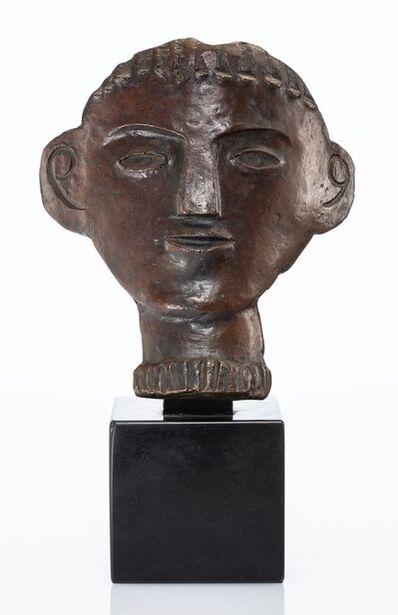André Derain, 'Visage géométrique'